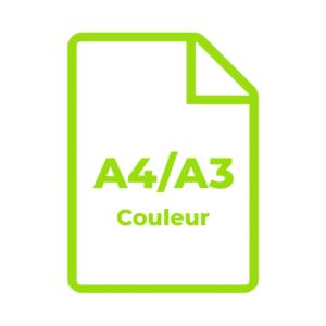 A4/A3 Couleur